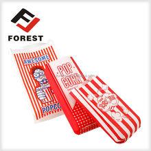 Printed popcorn paper bag
