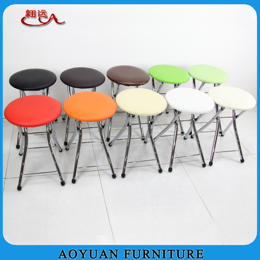 A246 Cheap Cushion Seat Metal Folding Chair