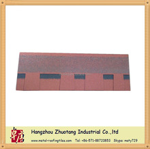 Two layer fiberglass roofing tiles