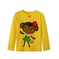 Branded kids clothes wholesale 2015 children's long sleeve T-shirts