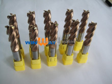 milling cutter of carbide end mill for slotting