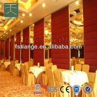 Soundproof Movable Partition,indoor room divider,Acoustic Folding Wall