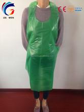LDPE HDPE Disposable Kitchen Plastic Apron/PE bibs