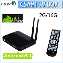 More Favorable Price than csa90! Android 5.1 LOLLIPOP with External WiFi antenna internet tv box csa91
