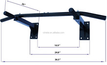 Wall mount pull up bar holds 300 pounds