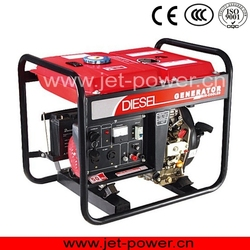 small diesel generator 5.5kva air cooled electric starter with open type