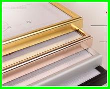 China supplier metal aluminum photo frame/aluminum picture frame