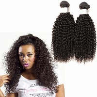 3pcs 24'' 26'' 28''unprocessed kinky curly wholesale virgin indian hair kinky curly weaving hair high quality factory price