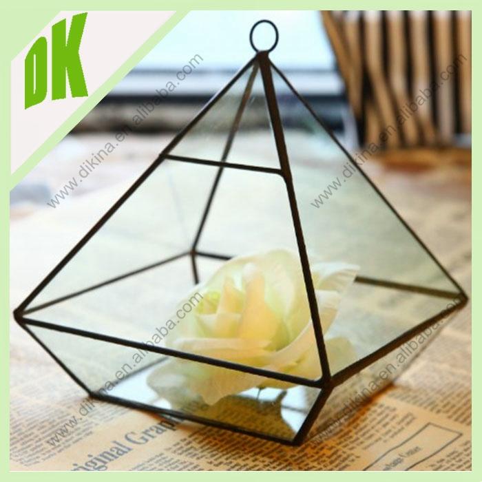 Amy glass goblet vase wedding centerpiece cake table