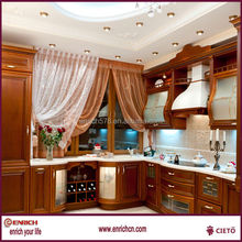 Economical PVC kitchen cabinet for Project Use