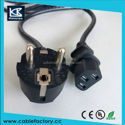 China factory direct sell! VDE power cord cable for laptops