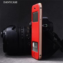 New Popular Mobile Phone Cover with Metal , Leather Flip Phone Case 6 for Iphone