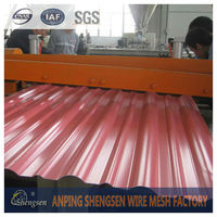 Factory price polycarbonate corrugated sheet