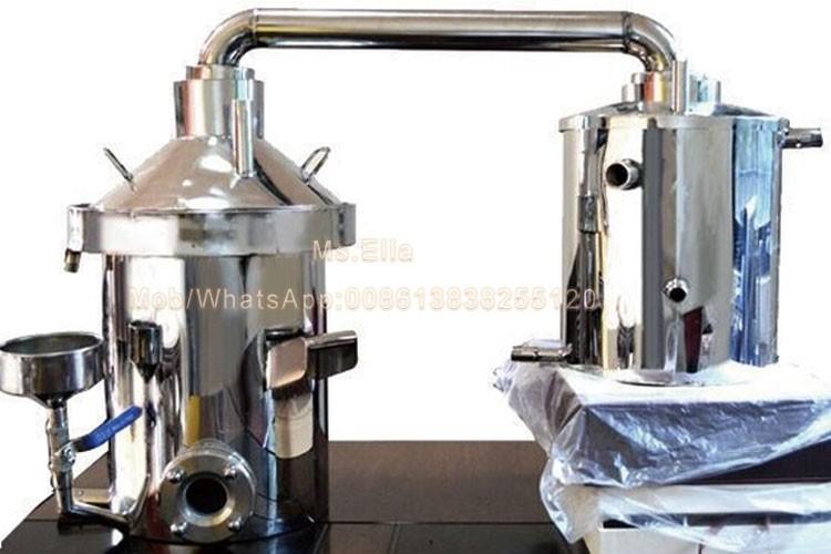 distillation la vapeur d 39 huile essentielle faire des. Black Bedroom Furniture Sets. Home Design Ideas