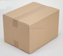 Custom print and design China Gungdong factory high quality brown kraft corrugated cardboard recycled a4 size paper box