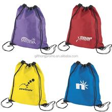 Hot sell polyester drawstring bag