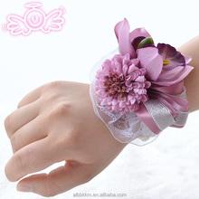 China atacado Orchid Daisy pulso flor flor do casamento