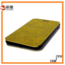 Alibaba 2015 Fancy Low Price Flip Cover Luxury Leather Ultra Slim Cover Case For Samsung Galaxy Grand 2 G7106