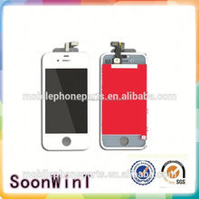 for iphone 4s lcd display with touch digitizer smart phone repair parts