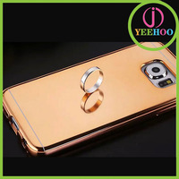 fashion mobile phone case, metal bumper cover for Samsung galaxy S6