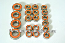 High Performance TAMIYA LAFA ROMEO ceramic bearing kits with different rubber seal color