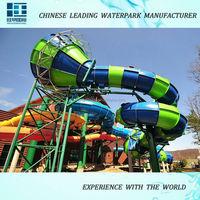 2015-2016 China Splash Aquatic Amusement Equipment Water Park Equipment Water Slides for ODM