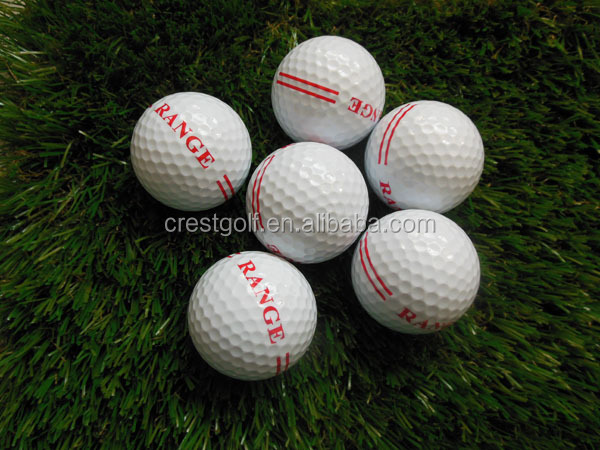Brand new 2/two piece practice golf balls/drive range ball