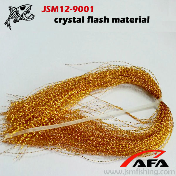 Krystal flash flying tying material tinsel for fishing for Fly fishing materials