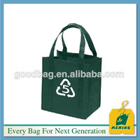 China supplier recyclable pp non woven fabric shopping tote bag