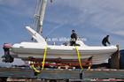 Liya 27ft china semi rígida lanchas infláveis com acessórios padrão