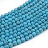 Natural black Tuquoise loose beads,semi precious stone round beads ,Turquoise beads wholesale in bulk