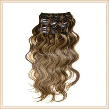 """100% remy clip in hair extension 22"""" curly weave clip in hair weave 100g"""