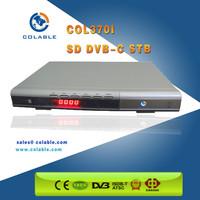 digital tv converter set top box for DVB-C system