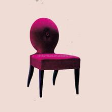 Hotel wooden armless chair IDM-C040