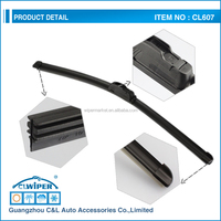 Cleaner and more durable windscreen wiper blade