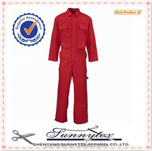 Ladies workwear long sleeve coverall cleaning work coveralls for women