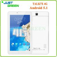 Original Cube Talk 7X 4G 7 inch 1GB 16GB Android 5.1 White 7 inch replacement screen for android tablet with low price