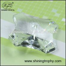 2015 Popular design crystal parts convex polygon for chandelier pendants