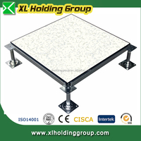 Cementitious Infill Antistatic Data Center Steel Raised Flooring