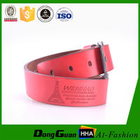 Burst sells kinds of color lady genuine leather tool belt with removable buckle