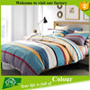 High Thread Count Colorful Bed Sheets Bedding Bag Comforter Set