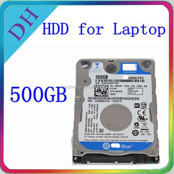 2.5'' laptop hdd 500gb factory direct in Hong Kong with 3 years warranty