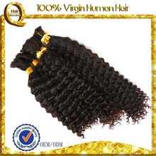 natural hair pieces french deep wave human hair