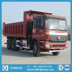 Foton Forland 3 axes dump truck