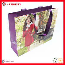 Brand shopping bags for clothes