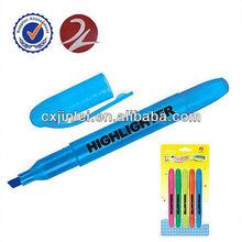 Pen style non-xylene highlighter marker pen