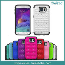 Diamond 2 in 1 Combo Phone Case Cover For Samsung Galaxy S6 G9200