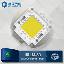 LM-80 Made in P.R.C Bridgelux Epistar Waterproof 50W CRI70 2900-3200K 5000-5500LM COB LED Module