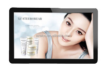 New model China manufacturer 32 inch wall mounted led advertising player,led andriod display screen