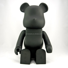 mini bear wholesale plastic toys, bloom bear plastic figure toy, Q bear plastic toy figure